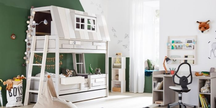 Modern Children's Bedroom: Best Bunk Beds for Kids - Kuhl Home