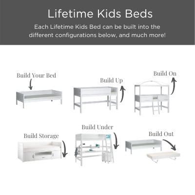Convertible kids beds at Kuhl Home