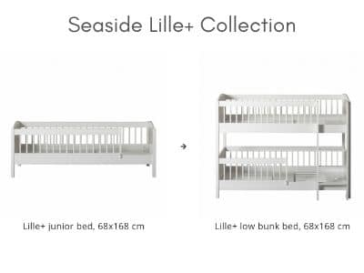 Oliver convertible children's bed at Kuhl Home